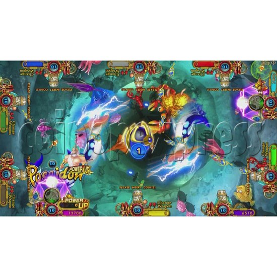 Ocean King 3 Plus Poseidon Realm Full Game Board Kit China Release Version - screen display-7