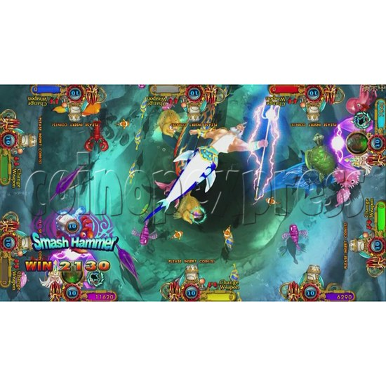 Ocean King 3 Plus Blackbeard Fury Game Board Kit China Release Version - screen display-8