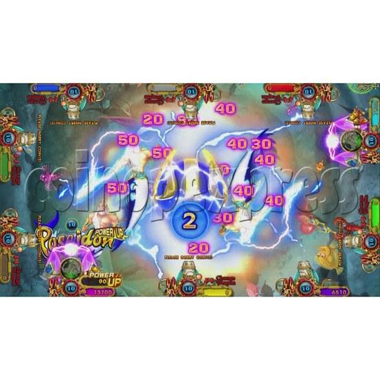 Ocean King 3 Plus Blackbeard Fury Game Board Kit China Release Version - screen display-10