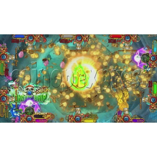 Ocean King 3 Plus Blackbeard Fury Game Board Kit China Release Version - screen display-13