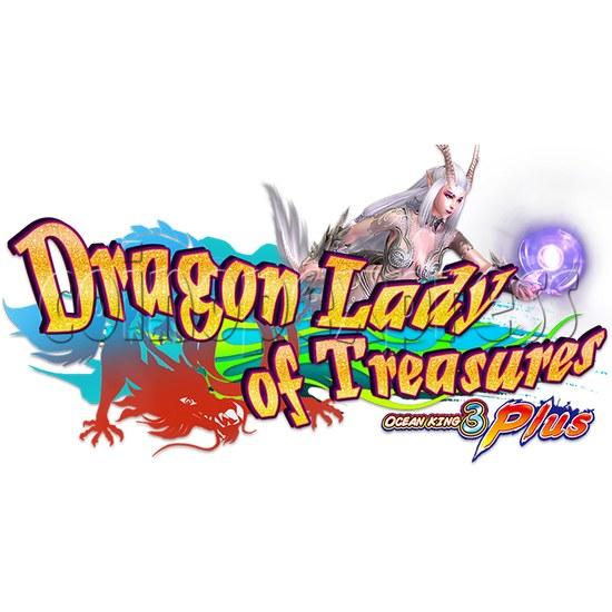 Ocean king 3 plus Dragon Lady of Treasures Fish Hunter Game board kit China release version - game logo