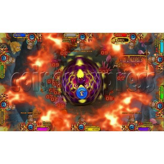 Ocean king 3 plus Dragon Lady of Treasures Fish Hunter Game board kit China release version - screen display 2