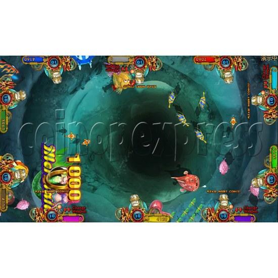 Ocean king 3 plus Dragon Lady of Treasures Fish Hunter Game board kit China release version - screen display 6
