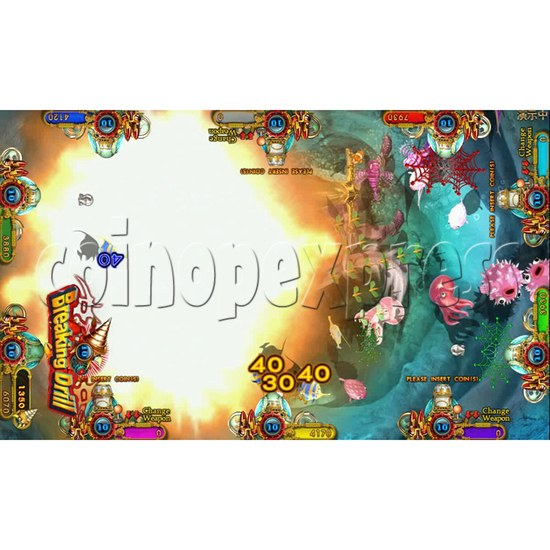 Ocean king 3 plus Dragon Lady of Treasures Fish Hunter Game board kit China release version - screen display 9