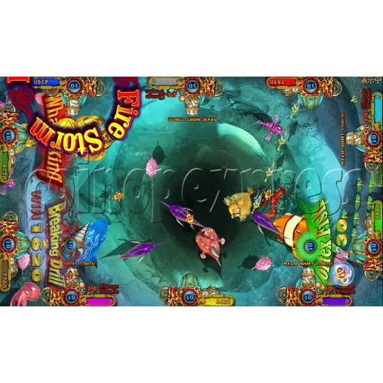 Ocean king 3 plus Dragon Lady of Treasures Fish Hunter Game board kit China release version - screen display 10