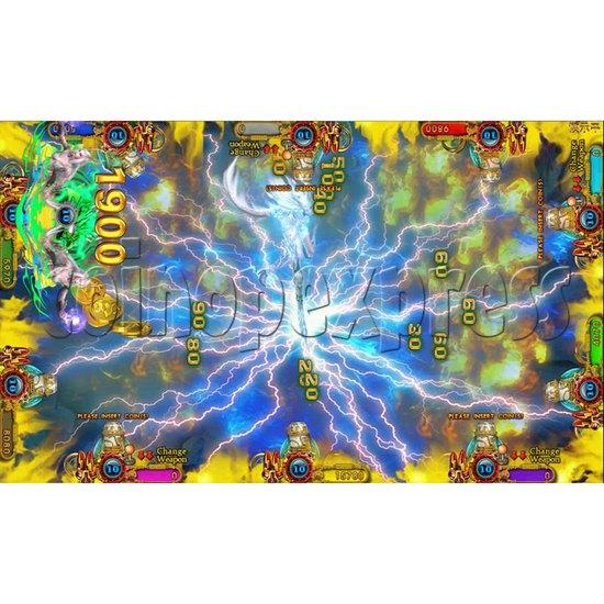 Ocean king 3 plus Dragon Lady of Treasures Fish Hunter Game board kit China release version - screen display 20