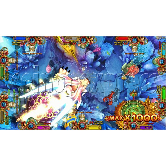 Ocean king 3 plus Aquaman Realm Fish Game Board Kit China Release Version - screen display 2