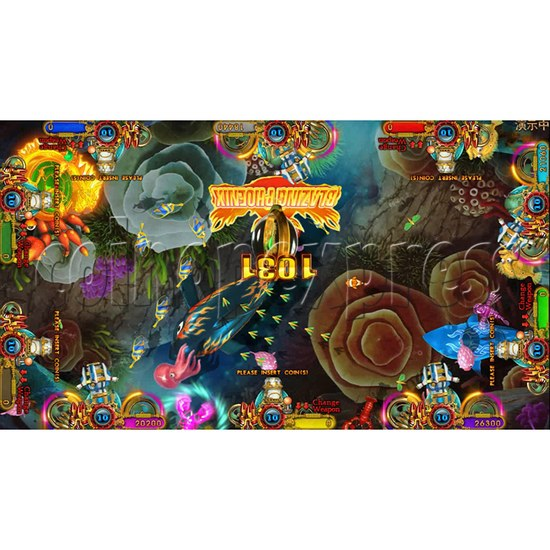 Ocean king 3 plus Aquaman Realm Fish Game Board Kit China Release Version - screen display 11