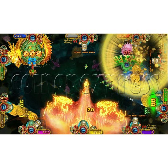 Ocean king 3 plus Fire Phoenix Fish Game Board Kit China Release Version - screen display 3