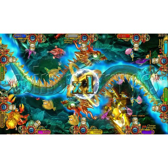 Ocean king 3 plus Fire Phoenix Fish Game Board Kit China Release Version - screen display 16