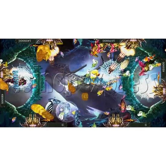 Santa Treasures Fish Arcade Game Full Game Board Kit - screen display 1
