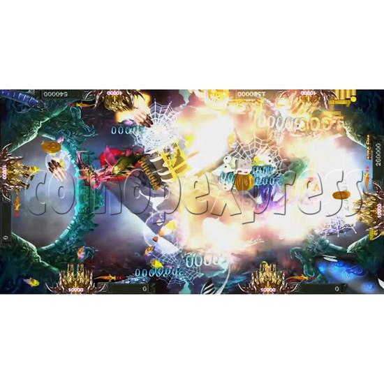 Santa Treasures Fish Arcade Game Full Game Board Kit - screen display 2