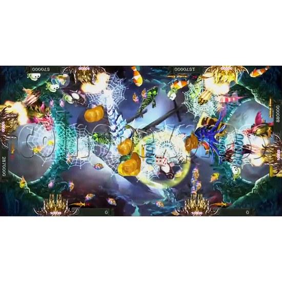 Santa Treasures Fish Arcade Game Full Game Board Kit - screen display 3