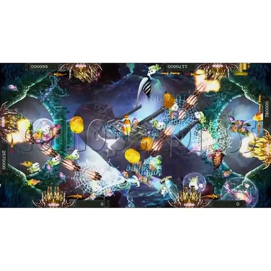 Santa Treasures Fish Arcade Game Full Game Board Kit - screen display 4