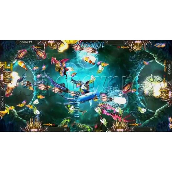Santa Treasures Fish Arcade Game Full Game Board Kit - screen display 5