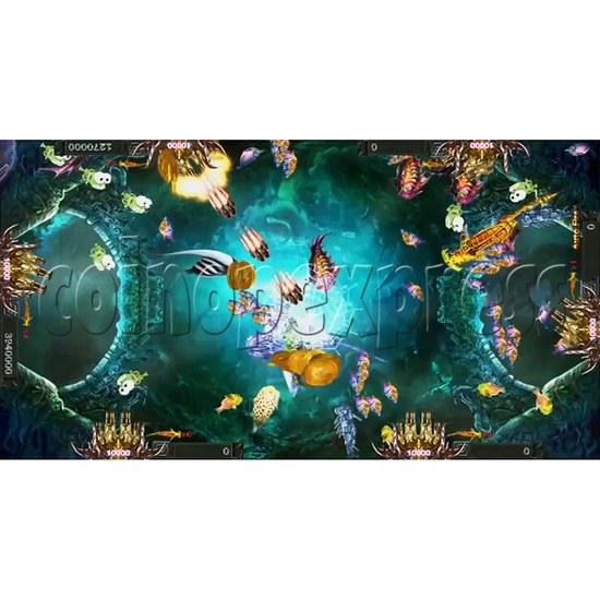 Santa Treasures Fish Arcade Game Full Game Board Kit - screen display 6