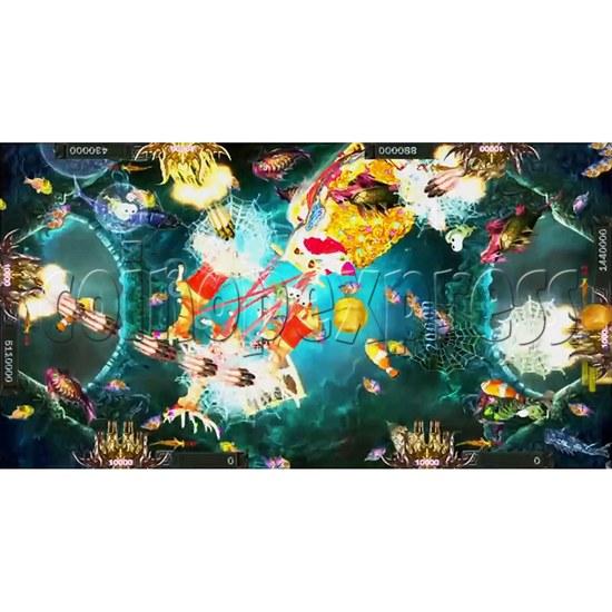 Santa Treasures Fish Arcade Game Full Game Board Kit - screen display 7