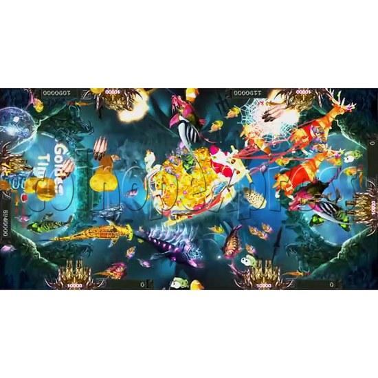 Santa Treasures Fish Arcade Game Full Game Board Kit - screen display 8
