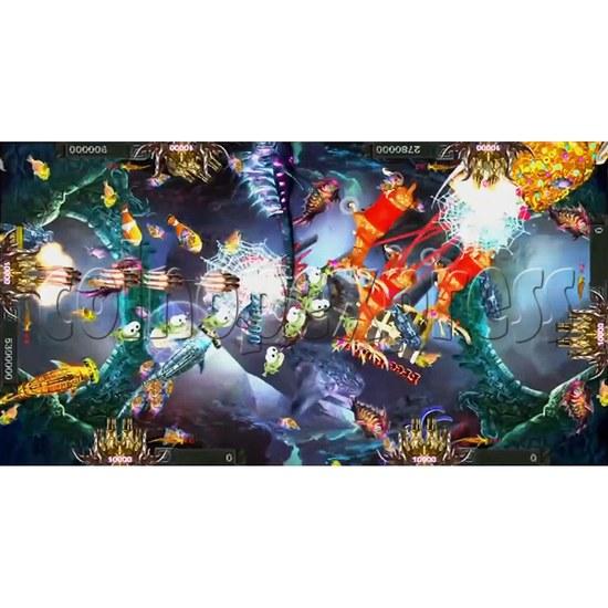 Santa Treasures Fish Arcade Game Full Game Board Kit - screen display 9