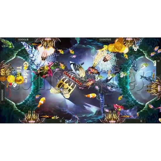 Santa Treasures Fish Arcade Game Full Game Board Kit - screen display 10