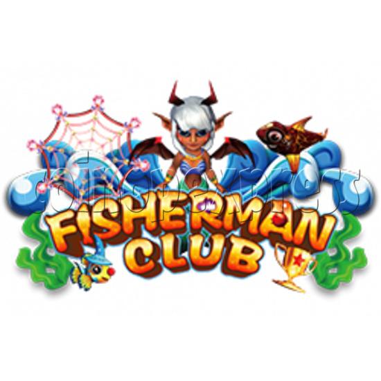 Fisherman Club Fish Game Board Kit China Release Version-game logo