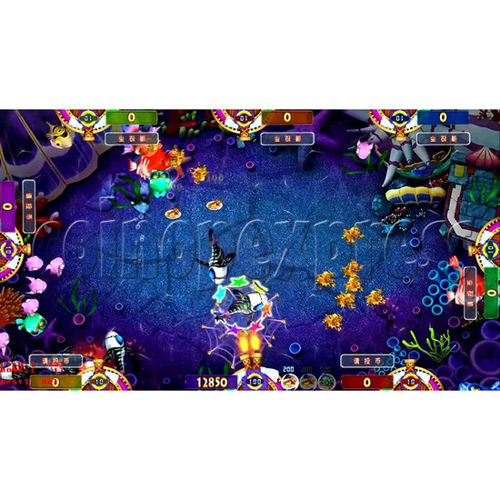 Fisherman Club Fish Game Board Kit China Release Version- screen display 4