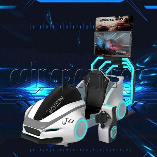 Speed Car Virtual Alliance VR Car Racing Simulator machine 2 players -Angle view
