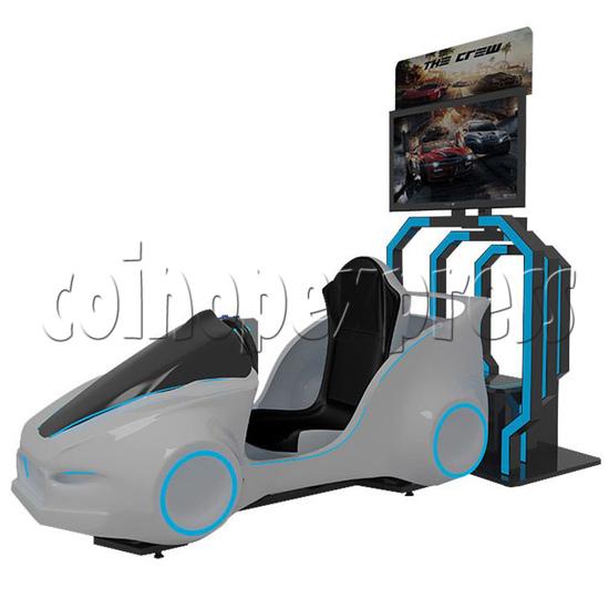 Speed Car Virtual Alliance VR Car Racing Simulator machine 2 players -Angle view2