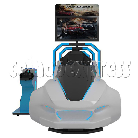 Speed Car Virtual Alliance VR Car Racing Simulator machine 2 players -Front view