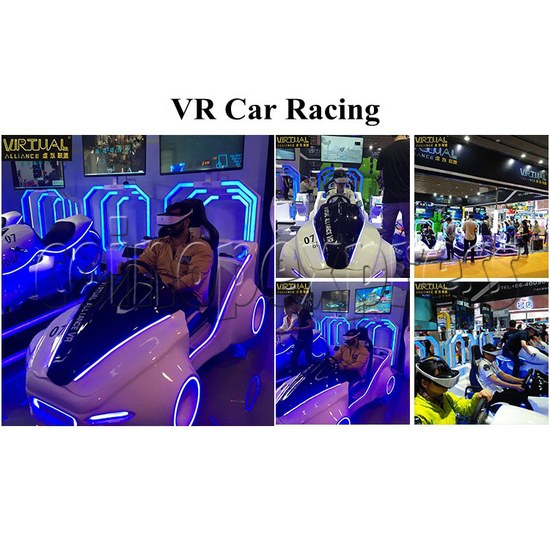 Speed Car Virtual Alliance VR Car Racing Simulator machine 2 players- Game features