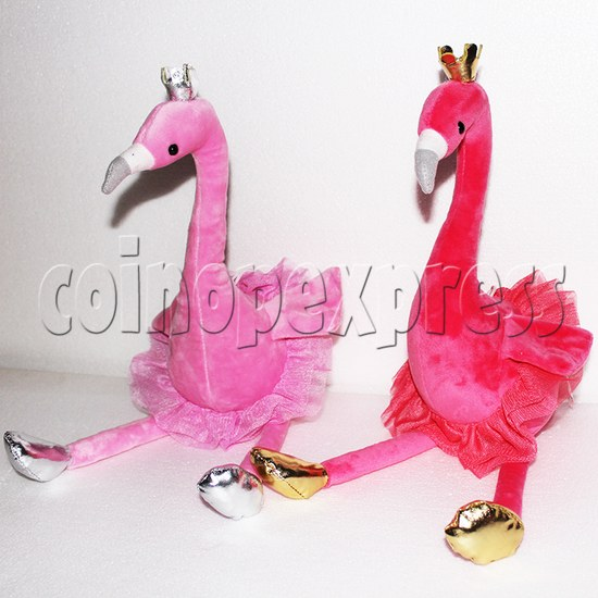 Flamingo Plush Toy 8 inch - front view