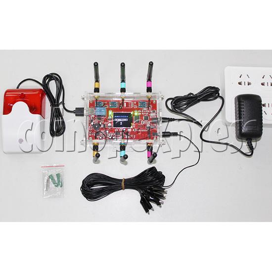 EMP Jammer Alarm System - connection method