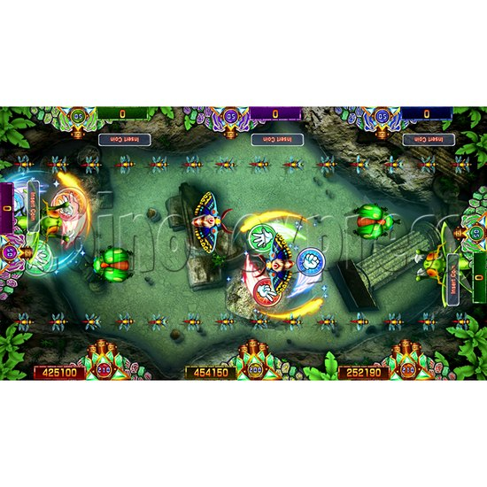 Mechanical Centipede Fishing Arcade Game Full Game Board Kit USA Edition - screen display 4