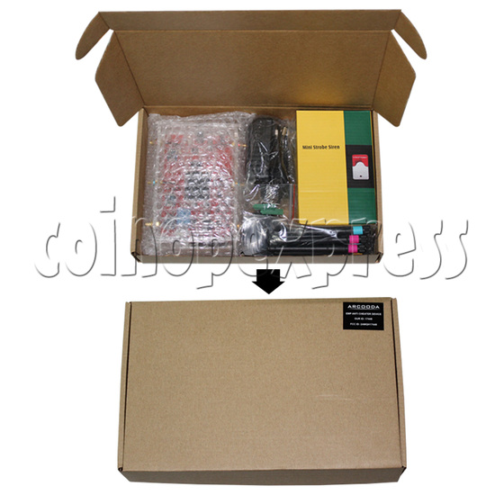 EMP Jammer Alarm System - package