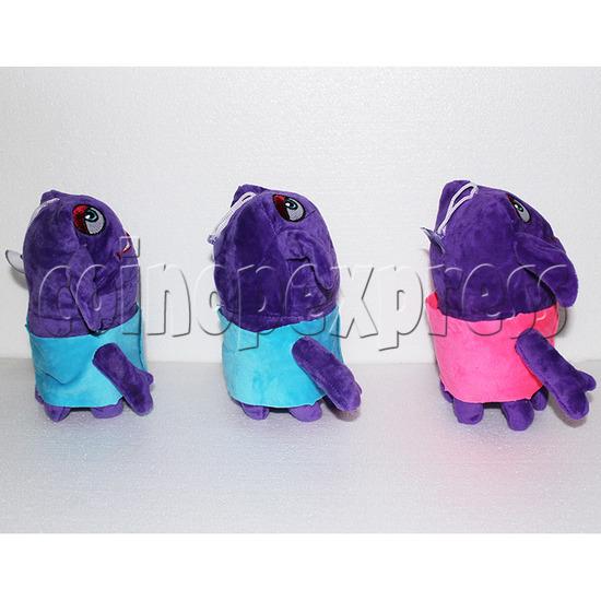 Ozai Aliens Plush Toy 8 inch - side view