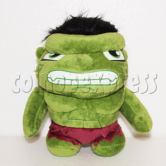Green Giant Plush Toy 8 inch - front view