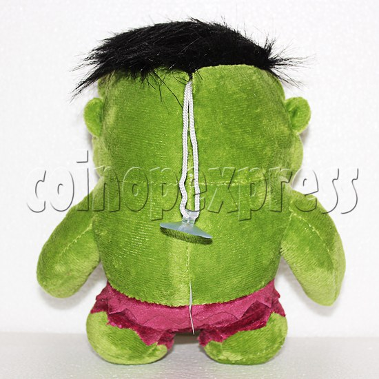 Green Giant Plush Toy 8 inch - back view