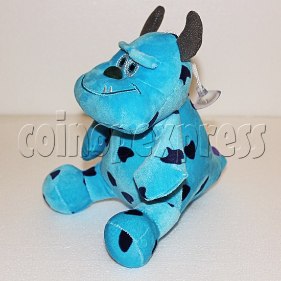 Shaggy Plush Toy 8 inch - angle view