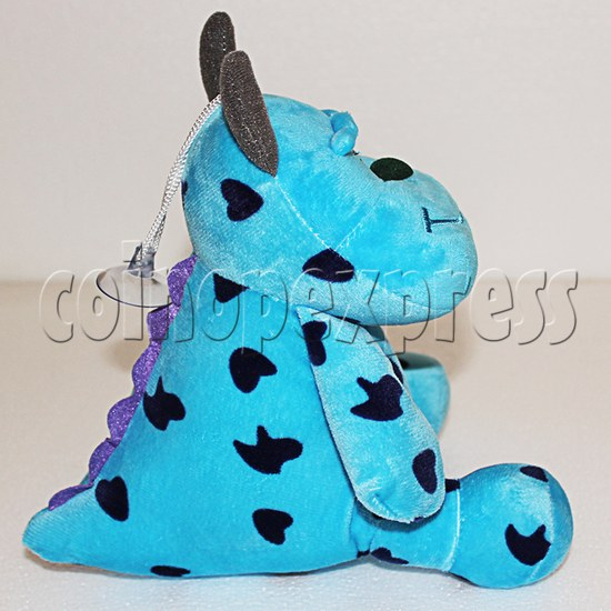 Shaggy Plush Toy 8 inch - side view