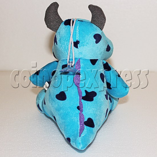 Shaggy Plush Toy 8 inch - back view