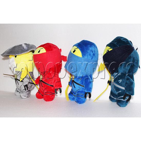 Little Ninja Plush Toy 8 inch - angle view