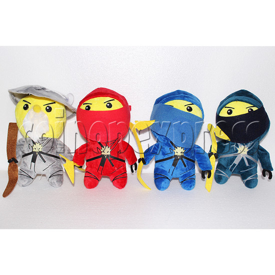 Little Ninja Plush Toy 8 inch - front view