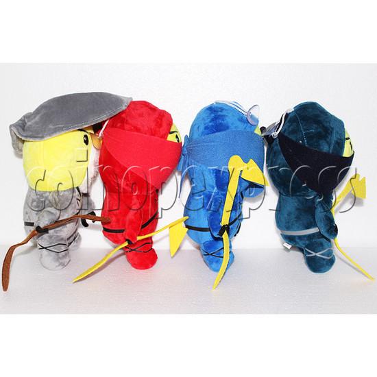 Little Ninja Plush Toy 8 inch - side view