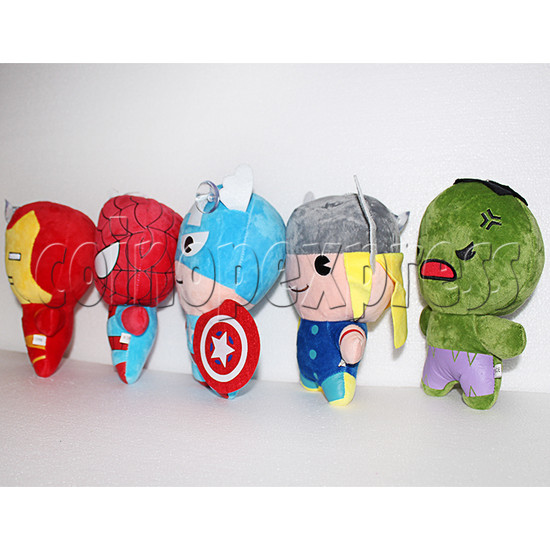 Avenger Series Plush Toy 8 inch - angle view