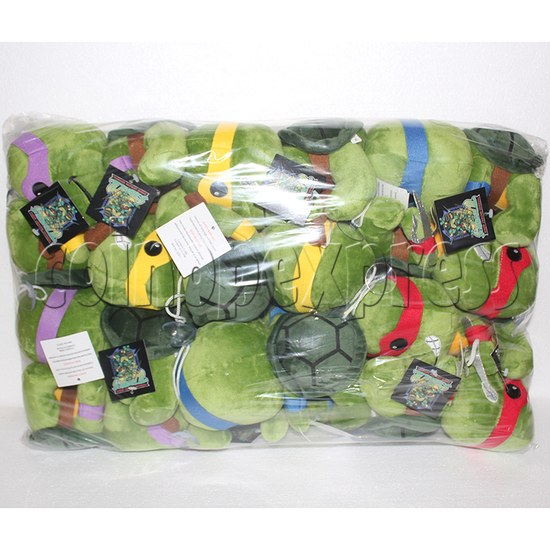 Super Tortoise Plush Toy 8 inch - package