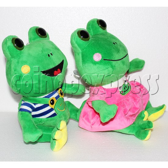 Lovers Frog Plush Toy 8 inch - side view