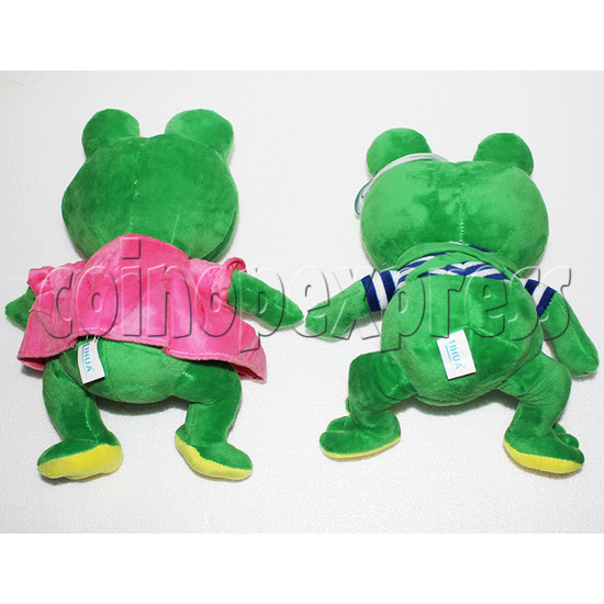 Lovers Frog Plush Toy 8 inch - back view