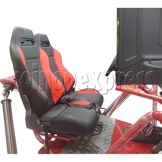 3 Fold Screen Virtual Reality Driving Car Arcade Game Machine - seat