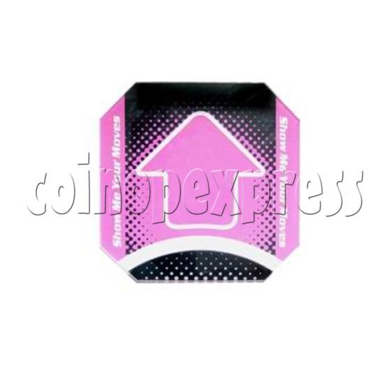 Dance Dance Revolution Dance Floor Arrows- pink