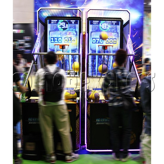 Storm Shot Basketball Arcade Ticket Redemption Game Machine- Play view 1